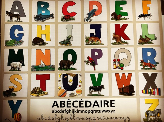 French Alphabet Abecedaire