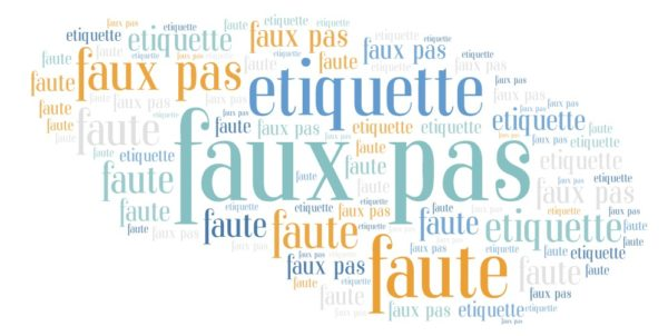 Faux Pas To Avoid In France
